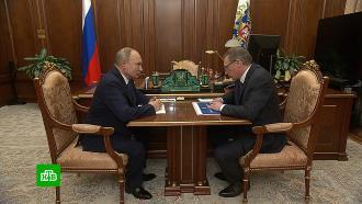 Губернатор Омской области сообщил Путину оперспективах развития региона.НТВ.Ru: новости, видео, программы телеканала НТВ