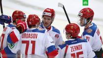 Российские хоккеисты одолели шведов в матче Евротура.Сборная России по хоккею с победы стартовала на Чешских играх.Еврохоккейтур, хоккей.НТВ.Ru: новости, видео, программы телеканала НТВ