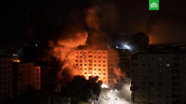 Израиль иПалестина вновь обменялись ракетными ударами.Израиль, Палестина, войны и вооруженные конфликты.НТВ.Ru: новости, видео, программы телеканала НТВ