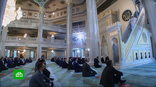 ВМоскве Ураза-байрам мусульмане отметят без массовых молитв.ислам, религия, торжества и праздники.НТВ.Ru: новости, видео, программы телеканала НТВ