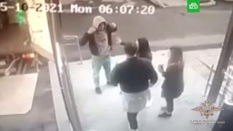 МВД показало видео драки с участием директора «Спартака»