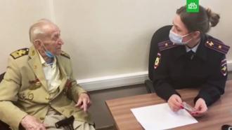 Двух петербуржцев задержали за ограбление <nobr>99-летнего</nobr> ветерана 9мая