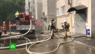 Названа основная версия причины пожара на чердаке екатеринбургской многоэтажки