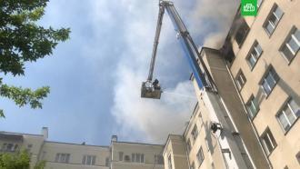 Открытое горение векатеринбургской многоэтажке ликвидировано