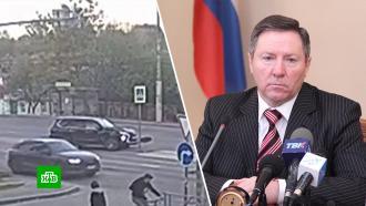 Липецкий сенатор Олег Королёв сбил на «Лексусе» дорожный знак