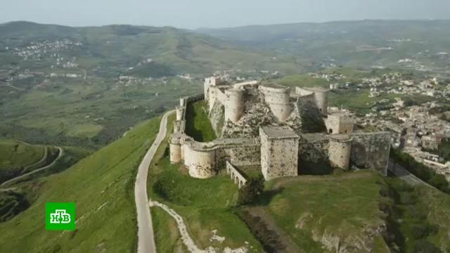 ВСирии приступили креставрации одного из самых красивых замков на Ближнем Востоке.Сирия, архитектура, реконструкция и реставрация.НТВ.Ru: новости, видео, программы телеканала НТВ