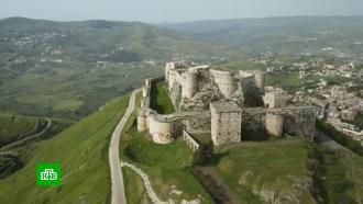 ВСирии приступили креставрации одного из самых красивых замков на Ближнем Востоке