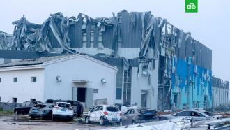 Смертельный торнадо в китайском городе Ухань