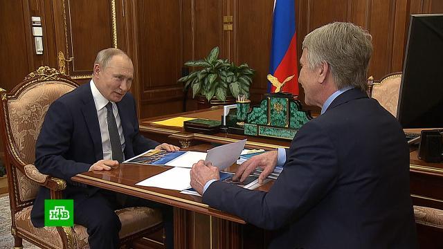 Первую линию «Арктик СПГ — 2» планируют запустить в 2023 году.Путин, Ямало-Ненецкий АО.НТВ.Ru: новости, видео, программы телеканала НТВ