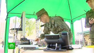 В Петербурге соревнуются военные айтишники и связисты со всей страны