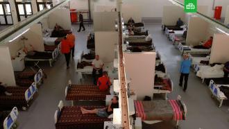 ВПетербурге разворачивают дополнительные койки для пациентов скоронавирусом