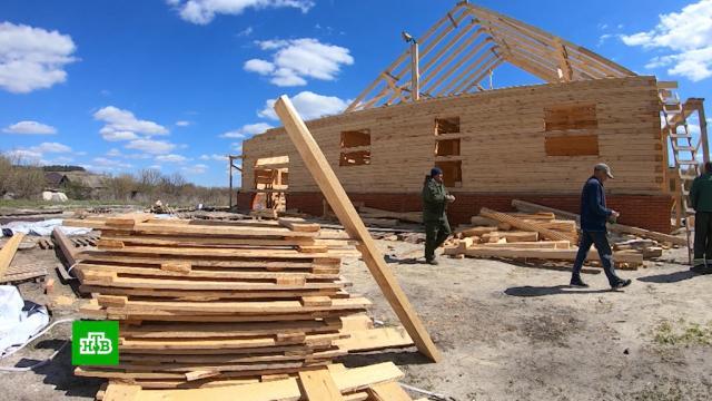 Из города вглубинку: молодые семьи випотеку строят дома вумирающей деревне