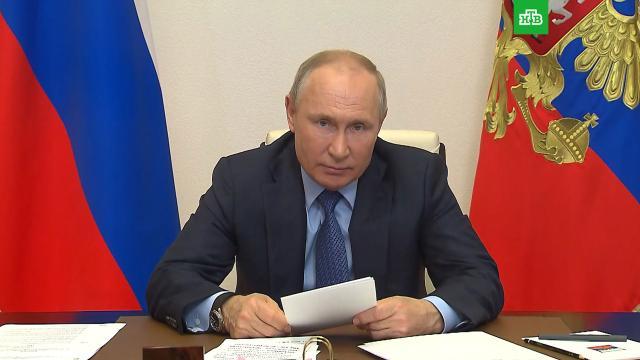 Путин: РФ все чаще сталкивается спопытками оболгать историю.Великая Отечественная война, Путин, история.НТВ.Ru: новости, видео, программы телеканала НТВ