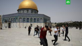 На Храмовой горе возобновились беспорядки: не менее 15пострадавших