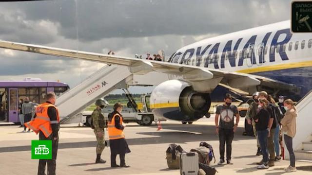 Прерванный полет лайнера Ryanair обсудят на саммите стран ЕС.авиация, Белоруссия, Европейский союз, задержание, самолеты.НТВ.Ru: новости, видео, программы телеканала НТВ