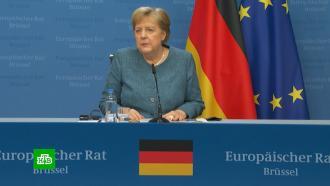 Меркель заявила онепричастности России кинциденту ссамолетом вМинске