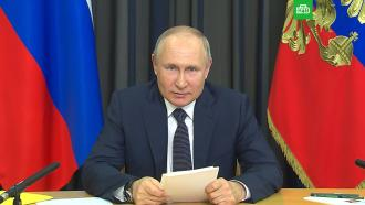 Путин выступил против обязательной вакцинации от <nobr>COVID-19</nobr>