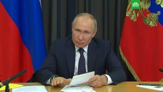 Путин: российская экономика постепенно восстанавливается
