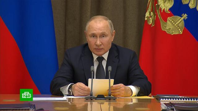 Путин заявил об уникальности новых видов российского вооружения.Минобороны РФ, Путин, вооружение, армия и флот РФ.НТВ.Ru: новости, видео, программы телеканала НТВ