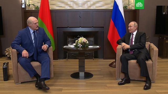 Путин назвал события вокруг Белоруссии «всплеском эмоций».Лукашенко, Путин, Сочи, переговоры.НТВ.Ru: новости, видео, программы телеканала НТВ