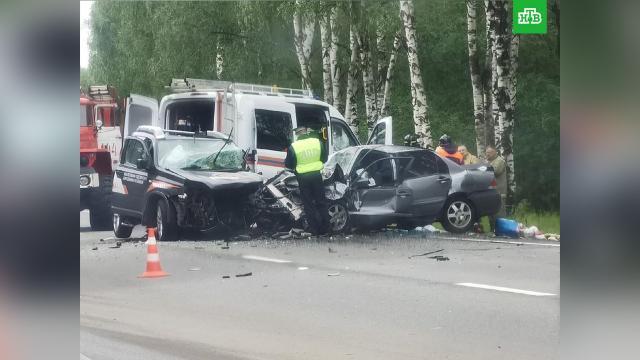 Вавтокатастрофе на нижегородской трассе погибли четыре человека.ДТП, Нижегородская область.НТВ.Ru: новости, видео, программы телеканала НТВ