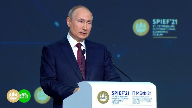 Путин объявил озавершении укладки первой нитки «Северного потока— 2».Путин, Северный поток, газ, газопровод.НТВ.Ru: новости, видео, программы телеканала НТВ