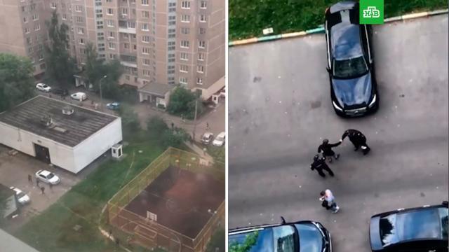 Полиция задержала 19участников массовой драки на севере Москвы.Москва, драки и избиения, полиция.НТВ.Ru: новости, видео, программы телеканала НТВ