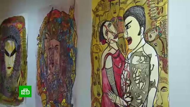 В Москве открылась выставка греческого художника Йоргоса Толиса.Москва, выставки и музеи, живопись и художники.НТВ.Ru: новости, видео, программы телеканала НТВ