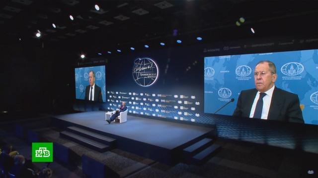 Лавров: уРФ нет завышенных ожиданий от встречи Путина иБайдена.Лавров, МИД РФ, дипломатия.НТВ.Ru: новости, видео, программы телеканала НТВ