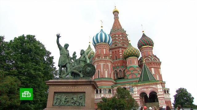 ВМоскве начали реставрировать памятник Минину иПожарскому