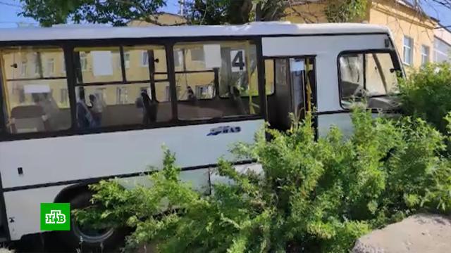 Автобус сбил насмерть шестерых пешеходов из-за отказавших тормозов.ДТП, Свердловская область, Урал, заводы и фабрики.НТВ.Ru: новости, видео, программы телеканала НТВ