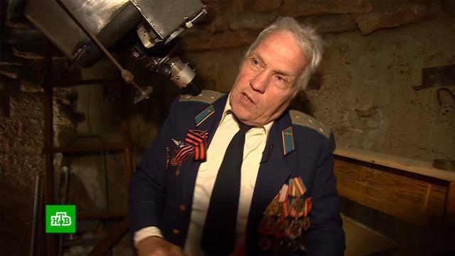 Из ведра и палок: пенсионер-энтузиаст популяризирует знания о космосе с помощью самодельных телескопов