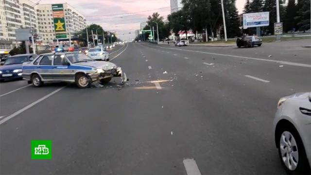 Инспектор ДПС сбил уходящего от полицейской погони мотоциклиста.ДТП, Уфа, мотоциклы и мопеды.НТВ.Ru: новости, видео, программы телеканала НТВ