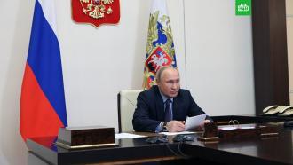 Путин поздравил граждан страны сДнем России