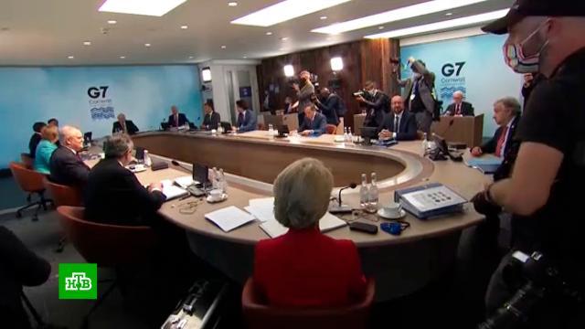 Саммит G7не обошелся без очередного курьеза Байдена.G7/G8, Байден, Великобритания, Джонсон Борис, курьезы.НТВ.Ru: новости, видео, программы телеканала НТВ