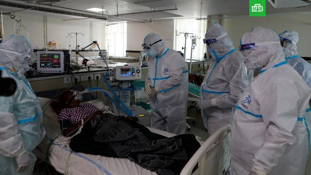 Названы новые симптомы индийского штамма коронавируса.Эпидемиолог Роспотребнадзора Наталья Пшеничная рассказала, какие симптомы характерны для индийского штамма коронавируса, который считается более заразным, чем зародившийся в Китае.Роспотребнадзор, коронавирус, эпидемия.НТВ.Ru: новости, видео, программы телеканала НТВ