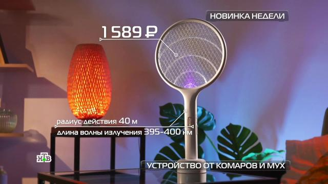 Электричество vs комары: тест устройства от насекомых.НТВ.Ru: новости, видео, программы телеканала НТВ