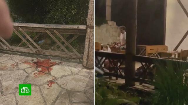 Туристка рассказала осостоянии пострадавших при стрельбе вАбхазии.Абхазия, задержание, рестораны и кафе, стрельба.НТВ.Ru: новости, видео, программы телеканала НТВ