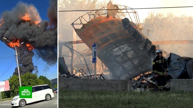 Все заправки вНовосибирской области проверят после взрыва на АЗС