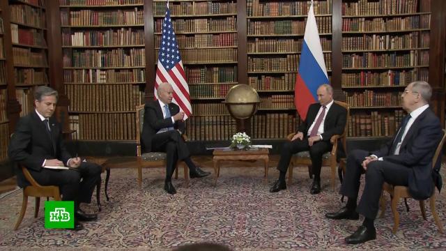 Переговоры Путина иБайдена вЖеневе завершились