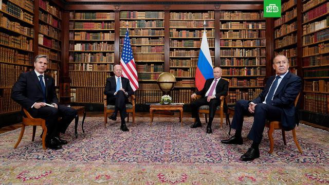 Путин и Байден приняли совместное заявление.Владимир Путин и Джо Байден приняли совместное заявление о поддержке стратегической стабильности.Байден, Путин.НТВ.Ru: новости, видео, программы телеканала НТВ