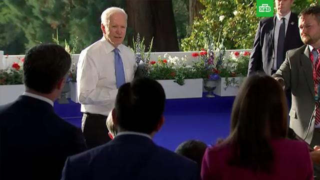 После саммита Байден заткнул рот корреспонденту CNN.Байден, Путин, СМИ, США, переговоры.НТВ.Ru: новости, видео, программы телеканала НТВ