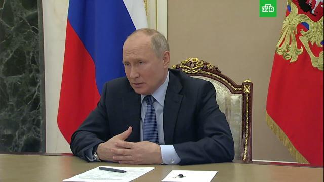Путин: созданный СМИ образ Байдена не имеет ничего общего сдействительностью.Байден, Путин, США.НТВ.Ru: новости, видео, программы телеканала НТВ