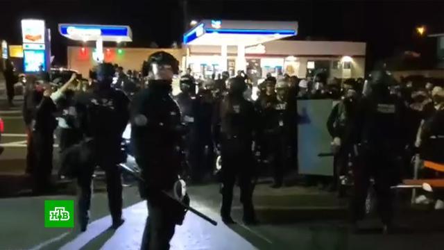 Американский Портленд остался беззащитным перед беспорядками.США, беспорядки, полиция, спецслужбы.НТВ.Ru: новости, видео, программы телеканала НТВ