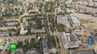 «Все потоплено»: улицы курортных городов Крыма превратились вмутные реки