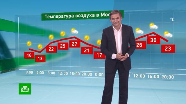 Утренний прогноз погоды на 18июня.погода, прогноз погоды.НТВ.Ru: новости, видео, программы телеканала НТВ