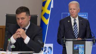 Игра в пинг-понг: сможет ли Украина войти в НАТО.НТВ.Ru: новости, видео, программы телеканала НТВ