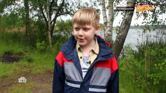 Сын Малиновской учится рыбачить удедушки вСмоленске.НТВ.Ru: новости, видео, программы телеканала НТВ