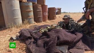 Российские военные инструкторы провели тренировку для сирийских снайперов