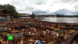 В Сибири и на Дальнем Востоке ликвидируют последствия сильных ливней